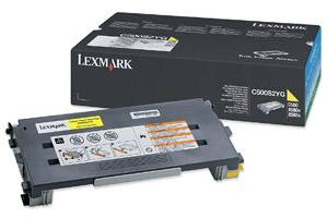 Lexmark C500S2YG [OEM] Genuine Yellow Toner Cartridge for C500N X500N X502N