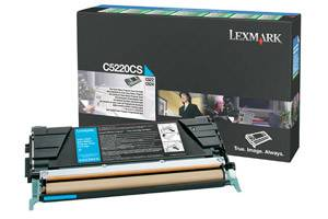 Lexmark C5220CS [OEM] Genuine Cyan Toner Cartridge for C522 C524 C530 C532 C534 Color