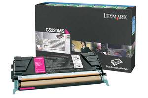 Lexmark C5220MS [OEM] Genuine Magenta Toner Cartridge for C522 C524 C530 C532 C534