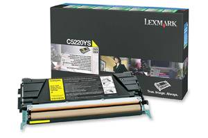 Lexmark C5220YS [OEM] Genuine Yellow Toner Cartridge for C522 C524 C530 C532 C534