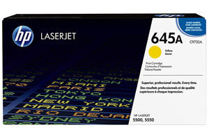 HP C9732A 645A [OEM] Genuine Yellow Toner Cartridge for LaserJet 5500