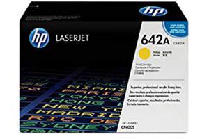 HP CB402A [OEM] Genuine Yellow Toner Cartridge for LaserJet CP4005