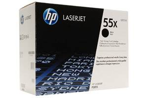 HP CE255X / 55X High Yield [OEM] Genuine Toner for LaserJet P3010