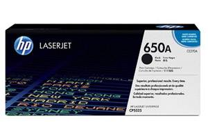 HP CE270A Black [OEM] Genuine Toner Cartridge for Laserjet CP5525 M750