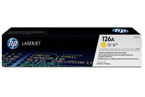 HP CE312A 126A Yellow [OEM] Genuine Toner for Laserjet Pro CP1025 M175