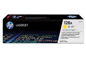 HP CE322A 128A Yellow [OEM] Genuine Toner for Laserjet CM1415 CP1525