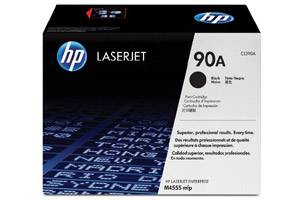 HP CE390A / 90A [OEM] Genuine Toner Cartridge for LaserJet M4555 M601