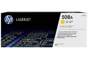 HP CF362A 508A OEM Genuine Yellow Toner Cartridge LaserJet M553 M577