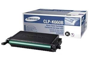 Samsung CLP-K660B [OEM] Genuine High Yield Black Toner Cartridge