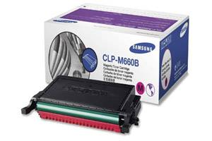Samsung CLP-M660B [OEM] Genuine High Yield Magenta Toner Cartridge
