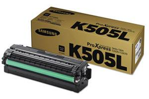 Samsung CLT-K505L OEM Genuine Black Toner Cartridge ProXpress C2620DW