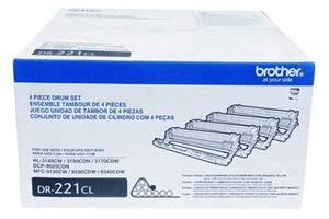 Brother DR-221CL [OEM] Genuine Imaging Drum Kit for HL-3140CW 3170CDW