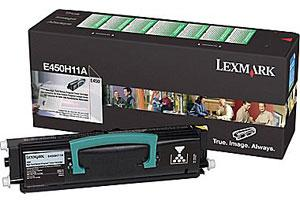 Lexmark E450H11A [OEM] Genuine High Yield Toner Cartridge E450 E450dn E450n Printers