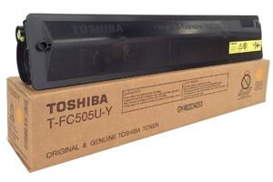 Toshiba T-FC505U-Y Yellow [OEM] Genuine Toner Cartridge