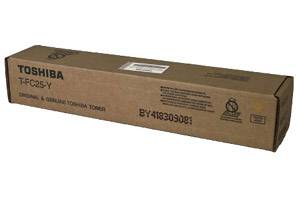 Toshiba T-FC25-Y [OEM] Genuine Yellow Toner Cartridge for e-Studio 2040C 4540C