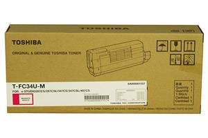 Toshiba TFC34UM OEM Genuine Magenta Toner Cartridge for e-Studio 287CS