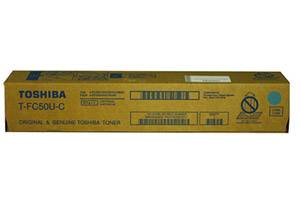 Toshiba T-FC50U-C [OEM] Genuine Cyan Toner Cartridge for e-Studio 2555C 5055C