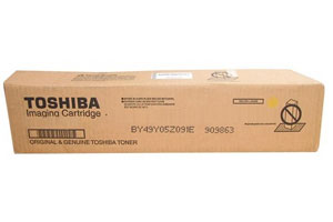 Toshiba T-FC65-Y [OEM] Genuine Yellow Toner Cartridge for e-Studio 5540C 6540C 6550C