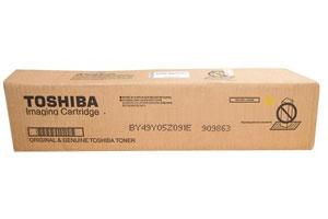 Toshiba T-FC65-Y Original Yellow Toner Cartridge for e-Studio 5540C 6540C 6550C