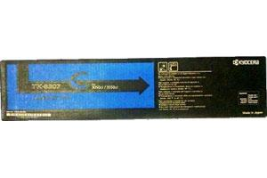 Kyocera Mita TK-8307C OEM Genuine Cyan Toner Cartridge for 3050ci