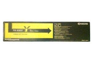 Kyocera Mita TK-8307Y OEM Genuine Yellow Toner Cartridge for 3050ci