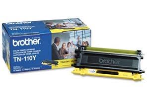 Brother TN-110 Yellow [OEM] Genuine Toner Cartridge for DCP-9040 9045