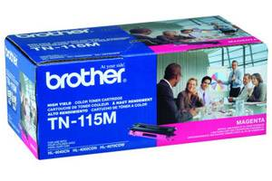Brother TN-115 Magenta [OEM] Genuine Hi-Yield Toner Cartridge DCP-9040
