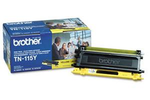 Brother TN-115 Yellow [OEM] Genuine Hi-Yield Toner Cartridge DCP-9040