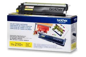 Brother TN-210 Yellow [OEM] Genuine Toner Cartridge HL-3040CN 3070CW