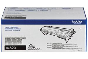 Brother TN-820 OEM Genuine Standard Yield (3K) Toner Cartridge