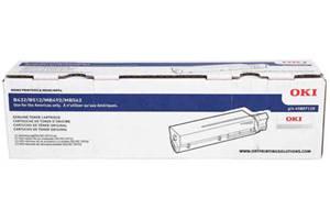 Okidata 45807110 (12K Yield) [OEM] Genuine Toner Cartridge for B432dn
