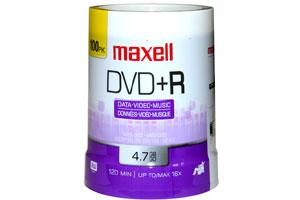 Maxell 639016 16X 4.7GB DVD+R 100PK Spindle