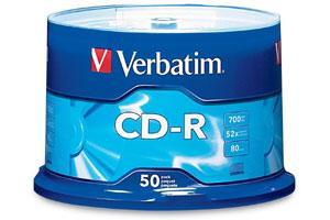 Verbatim 94691 52X 700MB CD-R 80min 50PK Spindle