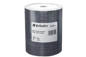 Verbatim 97107 16X 4.7GB DVD-R DataLife Plus 100PK Spindle Shiny Silver