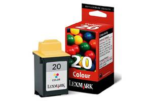 Lexmark 15M0120 (#20) OEM Genuine Color Ink Cartridge for Z51 Z52 Z53