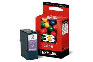 Lexmark 18C0033 (#33) Color OEM Genuine Ink Cartridge for P4330 P6250