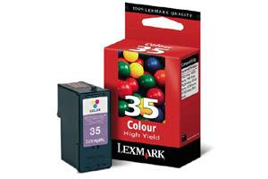 Lexmark 18C0035 (#35) High Yield Color OEM Genuine Ink Cartridge