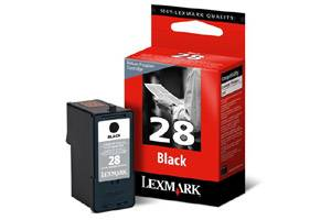 Lexmark 18C1428 (#28) OEM Genuine Black Ink Cartridge for X2500 X2550