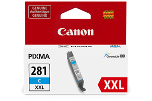 Canon 1980C001 CLI-281C XXL Original Cyan Ink Cartridge