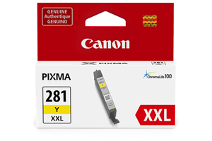 Canon 1982C001 CLI-281Y XXL Original Yellow Ink Cartridge