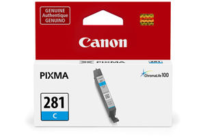 Canon 2088C001 CLI-281C Original Cyan Ink Cartridge