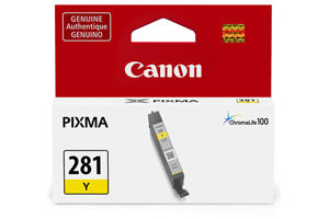 Canon 2090C001 CLI-281Y Original Yellow Ink Cartridge