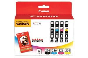Canon CLI-226 BK/C/Y/M 4PK OEM Genuine Ink Tank Pixma iP4820 MX882