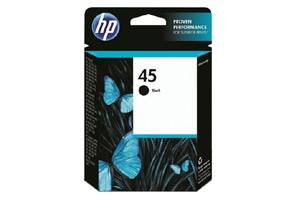 HP 51645A (#45) Black OEM Genuine Inkjet Cartridge