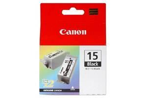 Canon BCI-15 Black (2 Pk) OEM Genuine Ink Tank for i70 i80 Pixma iP90v