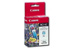 Canon BCI-6C OEM Genuine Cyan Ink Tank for i865 Pixma iP4000 MP750