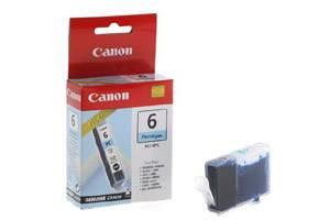 Canon BCI-6PC Original Cyan Photo Ink Tank for BJC-8200 i900D i9900