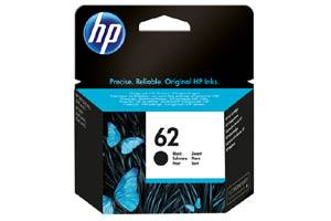 HP C2P04AN (#62) Black OEM Genuine Ink Cartridge
