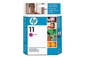 HP C4837AN (#11) Magenta OEM Genuine Inkjet Cartridge for InkJet 1100