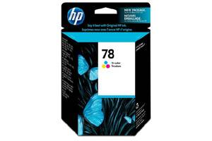 HP C6578DN (#78) Tri-Color OEM Genuine Ink Cartridge